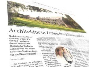 eins:eins architekten hamburg - klimamodellquartier abendblatt