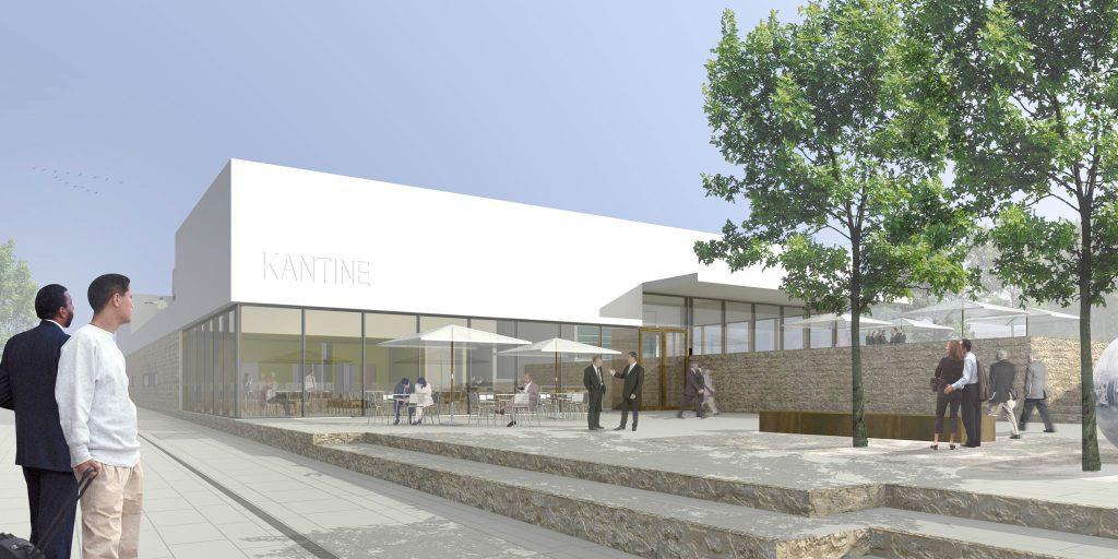 eins:eins architekten hamburg - Kantinen- und Konferenzgebäude AKNZ