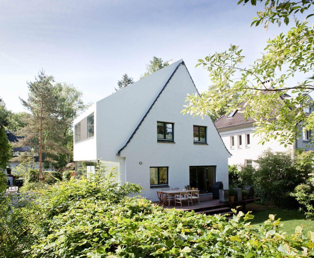 eins:eins architekten hamburg - Anbau an ein Siedlerhaus