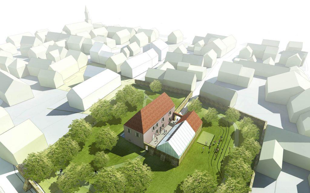 eins:eins architekten hamburg - Erweiterung Schloß Rottendorf