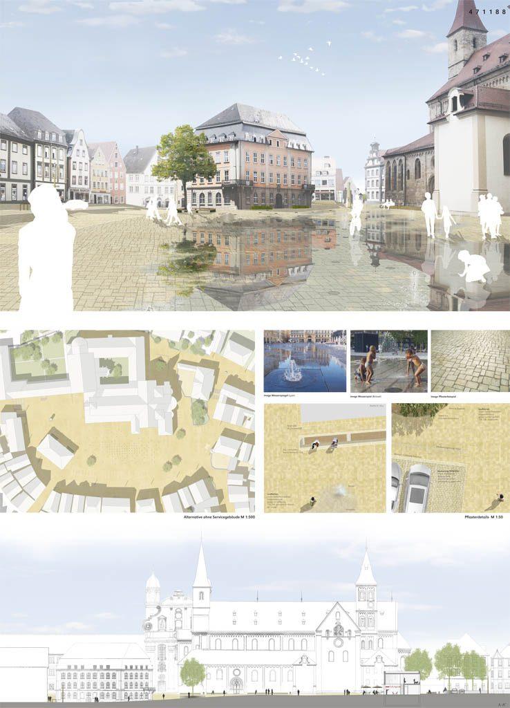 eins:eins architekten hamburg - Neugestaltung historischer Marktplatz