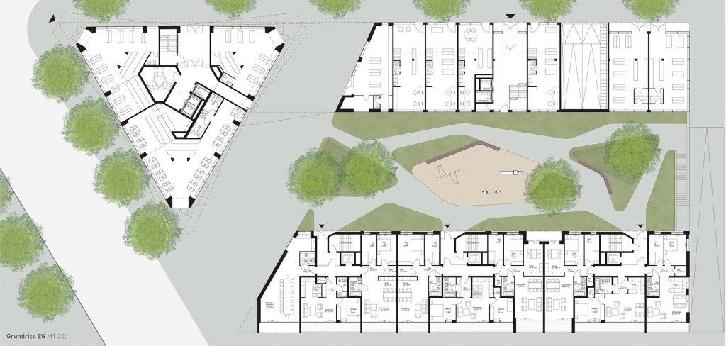 eins:eins architekten hamburg - Campustower Baufeld 80