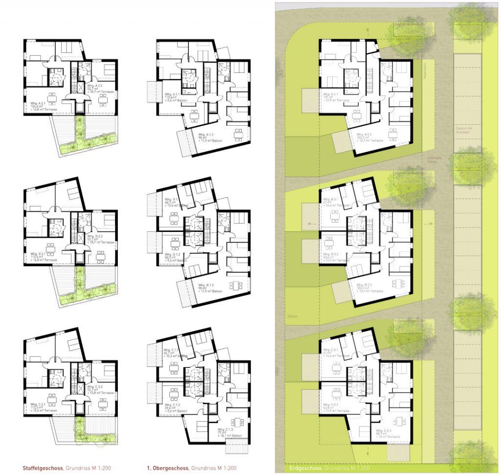 eins:eins architekten hamburg - Wohnen im Hanseviertel