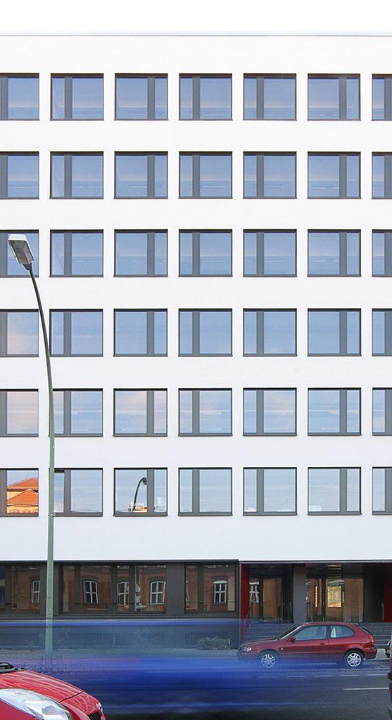 eins:eins architekten hamburg - Fassadensanierung Lützowstraße