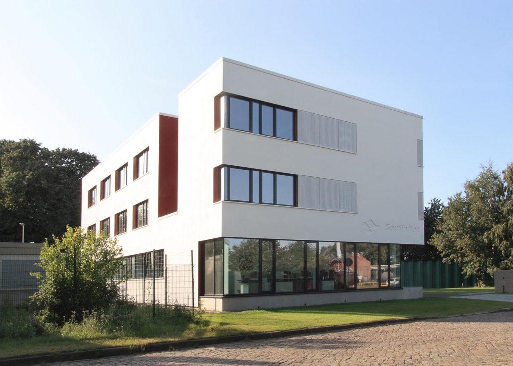 eins:eins architekten hamburg - Verwaltungsgebäude am Jachthafen