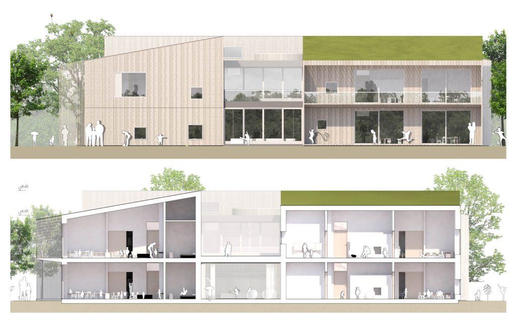 eins:eins architekten hamburg - Kita Vogelkamp