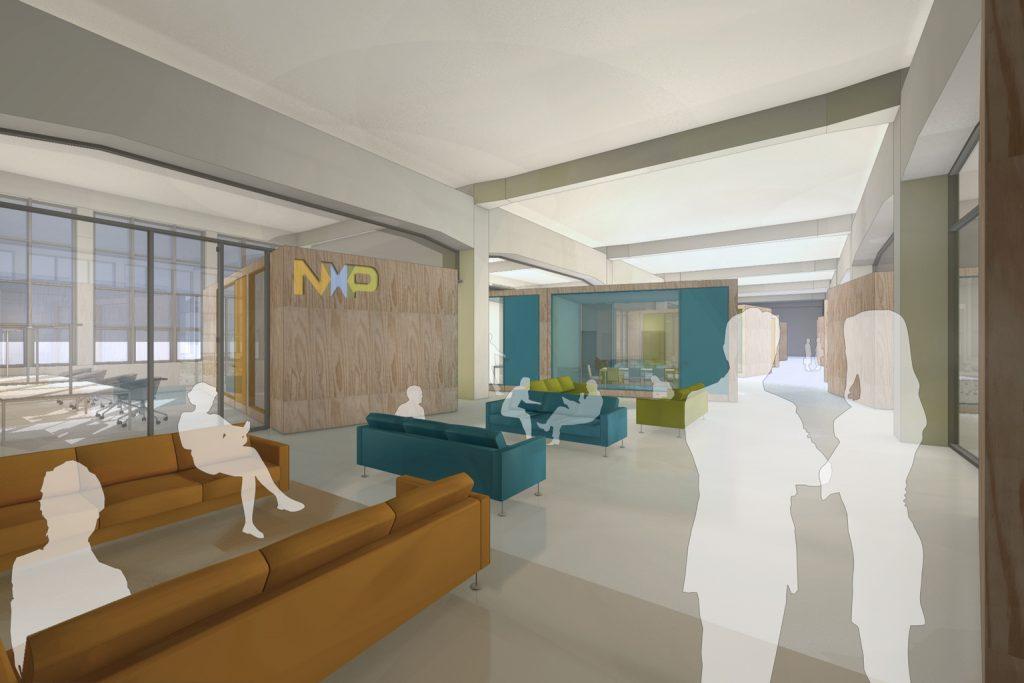 eins:eins architekten hamburg - Büroausbau NXP