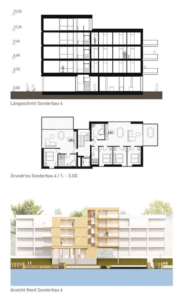 eins:eins architekten hamburg - Priwall Waterfront Sonderbau 3-4