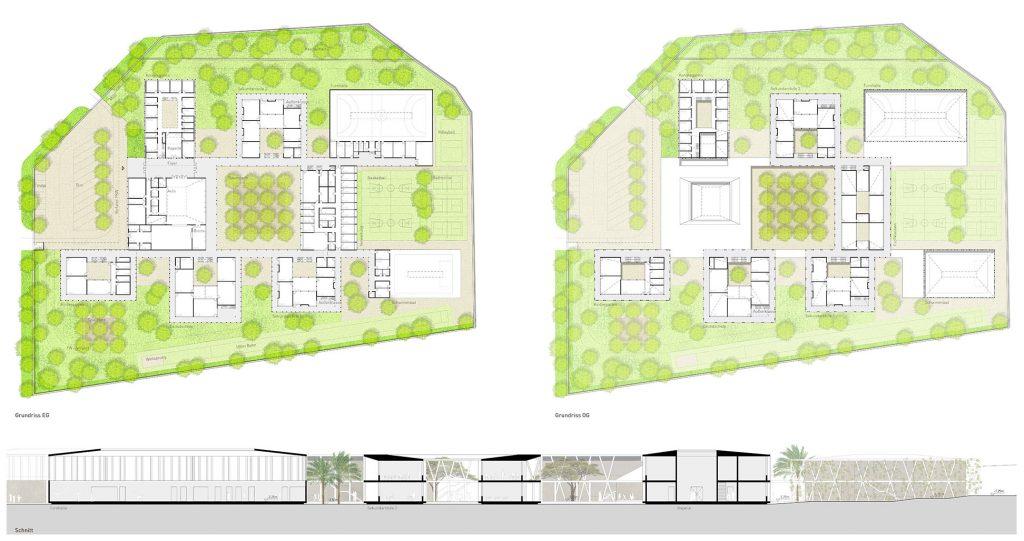 eins:eins architekten hamburg - Deutsche Schule der Borromäerinnen