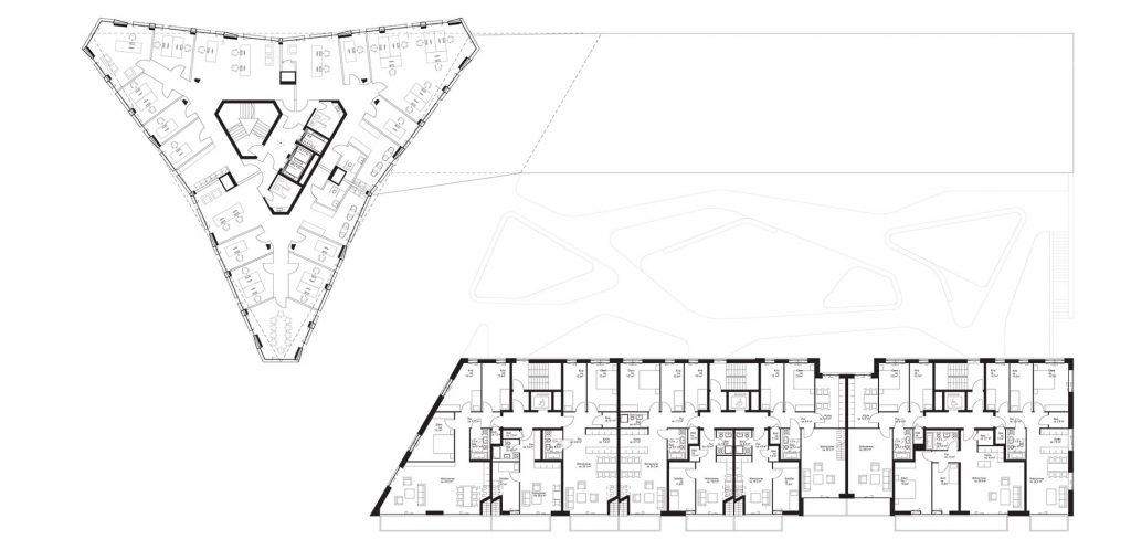 eins:eins architekten hamburg - Wohnungsbau Baufeld 80