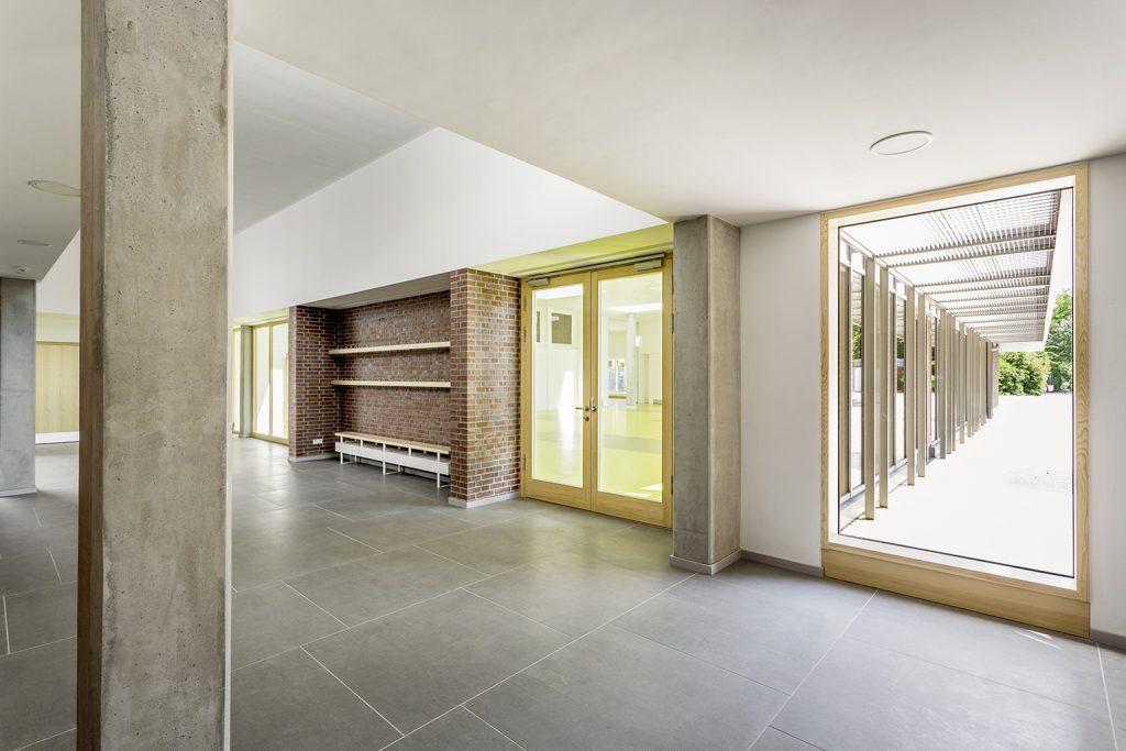 eins:eins architekten hamburg - Schulerweiterung Neubergerweg