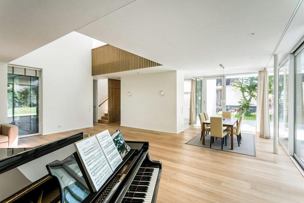 eins:eins architekten hamburg - Haus für eine Pianistin