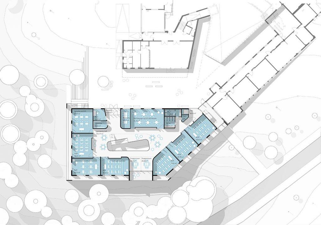 eins:eins architekten hamburg - Erweiterung der Waldschule