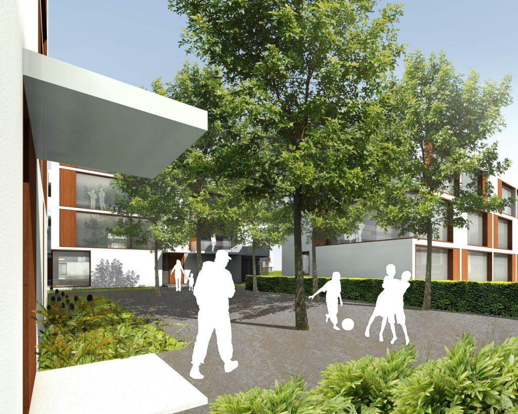 eins:eins architekten hamburg - Wohnbebauung Weissenberg