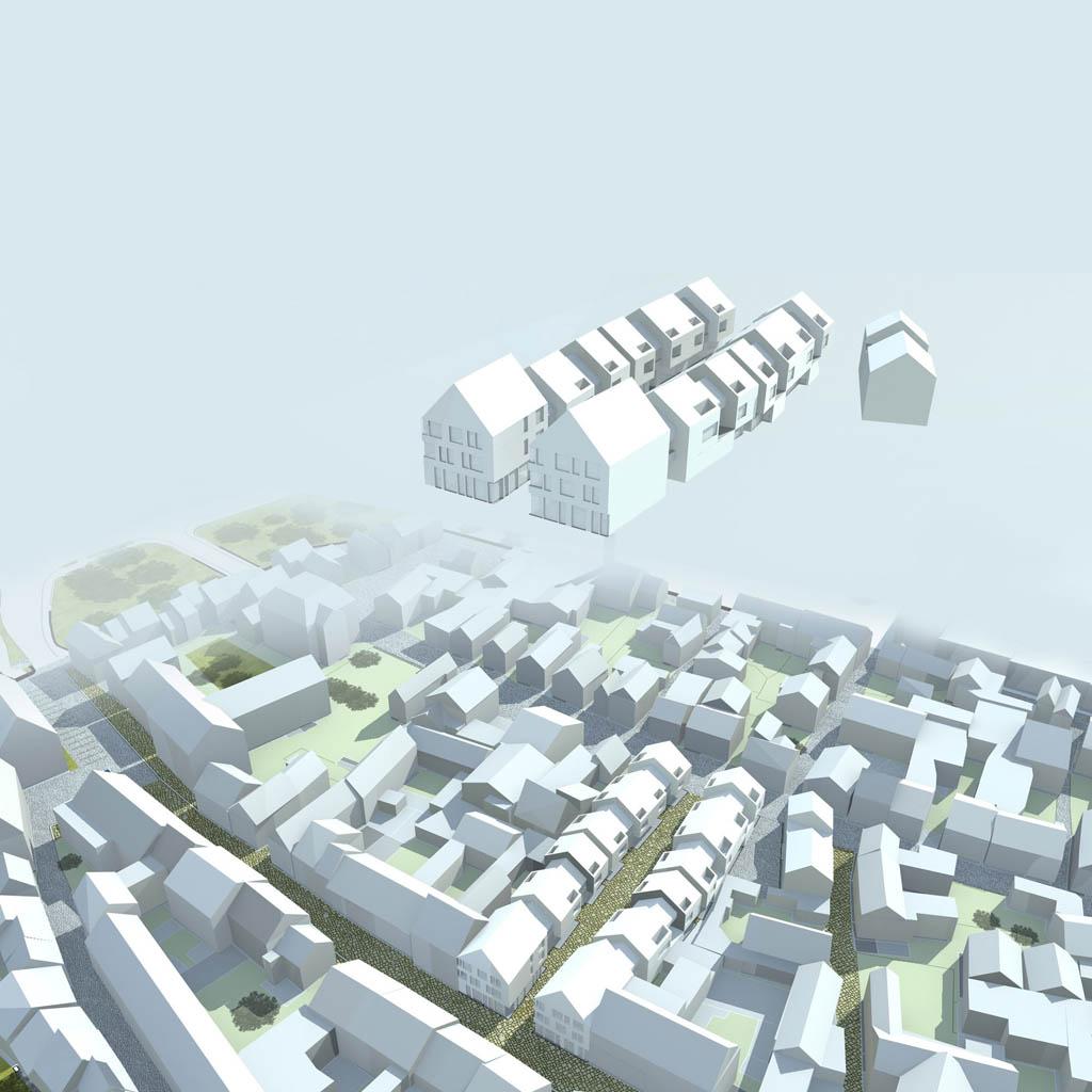 eins:eins architekten hamburg - Straßen und Plätze Mellrichstadt