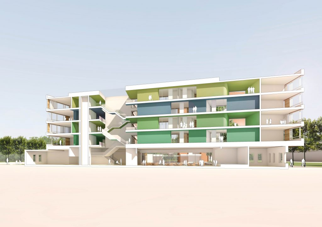 eins:eins architekten hamburg - Berufsschule H7und20
