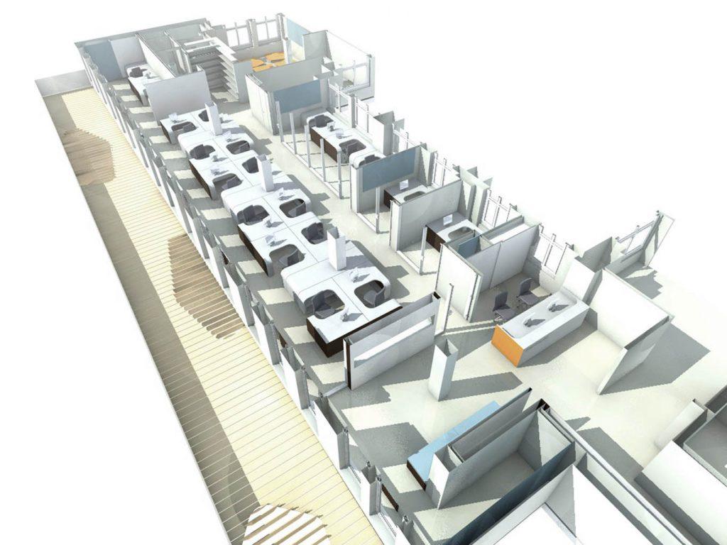 eins:eins architekten hamburg - Büroausbau Syzygy