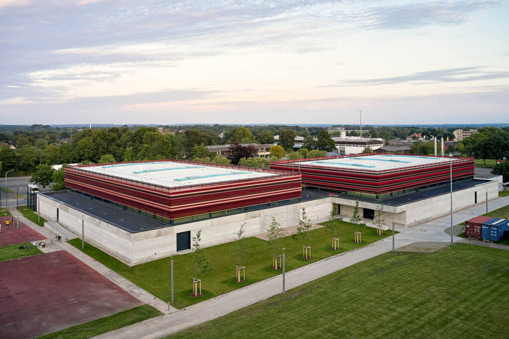 eins:eins architekten hamburg - Sportzentrum Heide