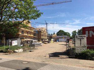 eins:eins architekten hamburg - Osterfeld Baustelle Einszueins