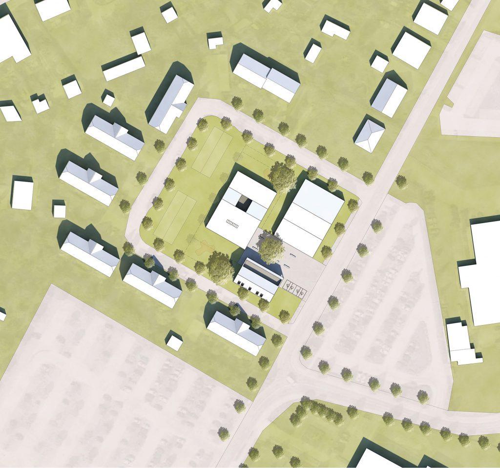eins:eins architekten hamburg - Kindergarten und Ärztehaus