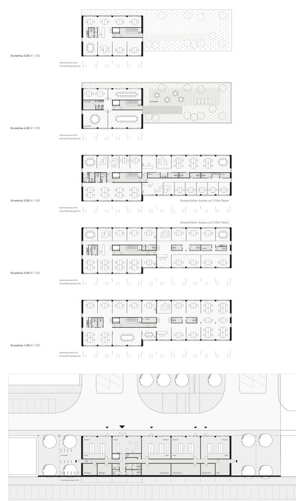 eins:eins architekten hamburg - Kreativwirtschaftszentrum