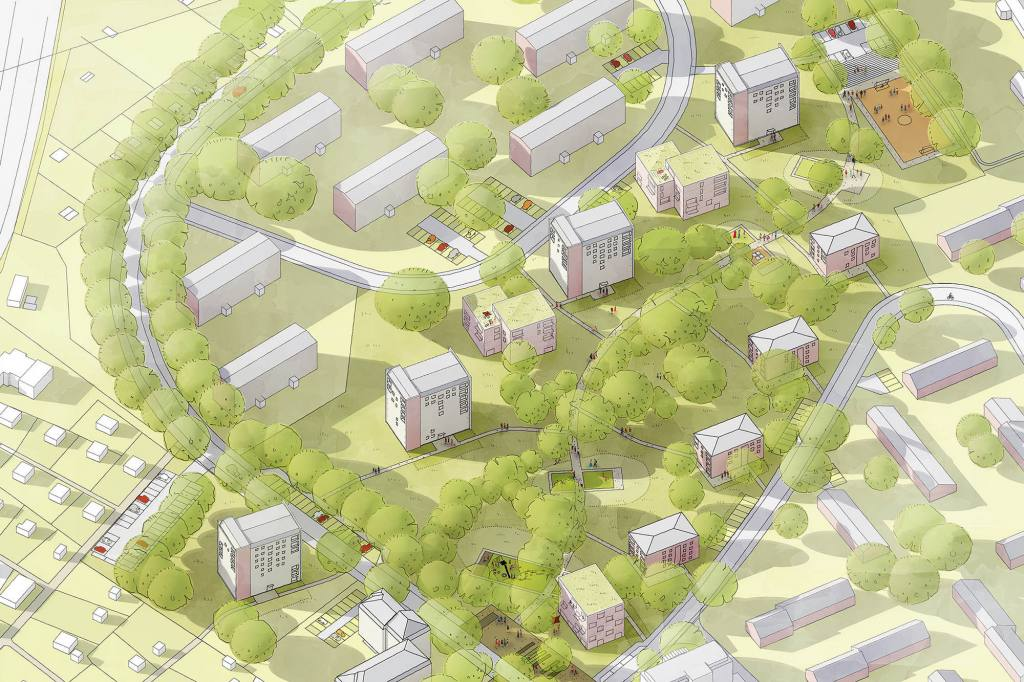 eins:eins architekten hamburg - Eisenbahnerviertel