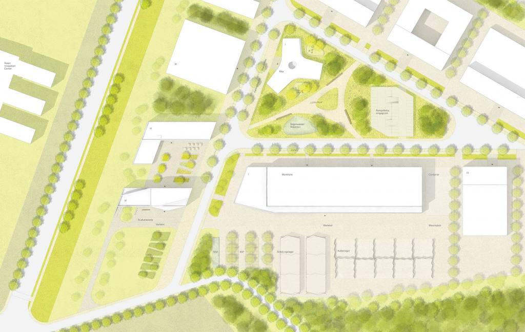 eins:eins architekten hamburg - Technologie- und Gewerbepark