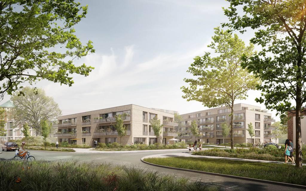 eins:eins architekten hamburg - Wohnungsbau OxPark