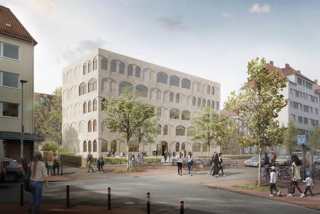 eins:eins architekten hamburg - Lutherschule