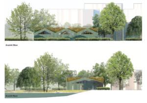 eins:eins architekten hamburg - Schwanenquartier Ansicht Nord Und West