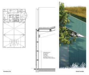 eins:eins architekten hamburg - Schwanenquartier Grundriss OG Und Detail