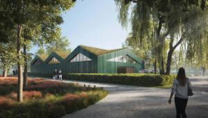 eins:eins architekten hamburg - Schwanenquartier Perspektive Eingang