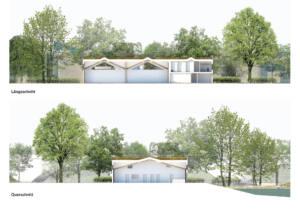 eins:eins architekten hamburg - Schwanenquartier Schnitte